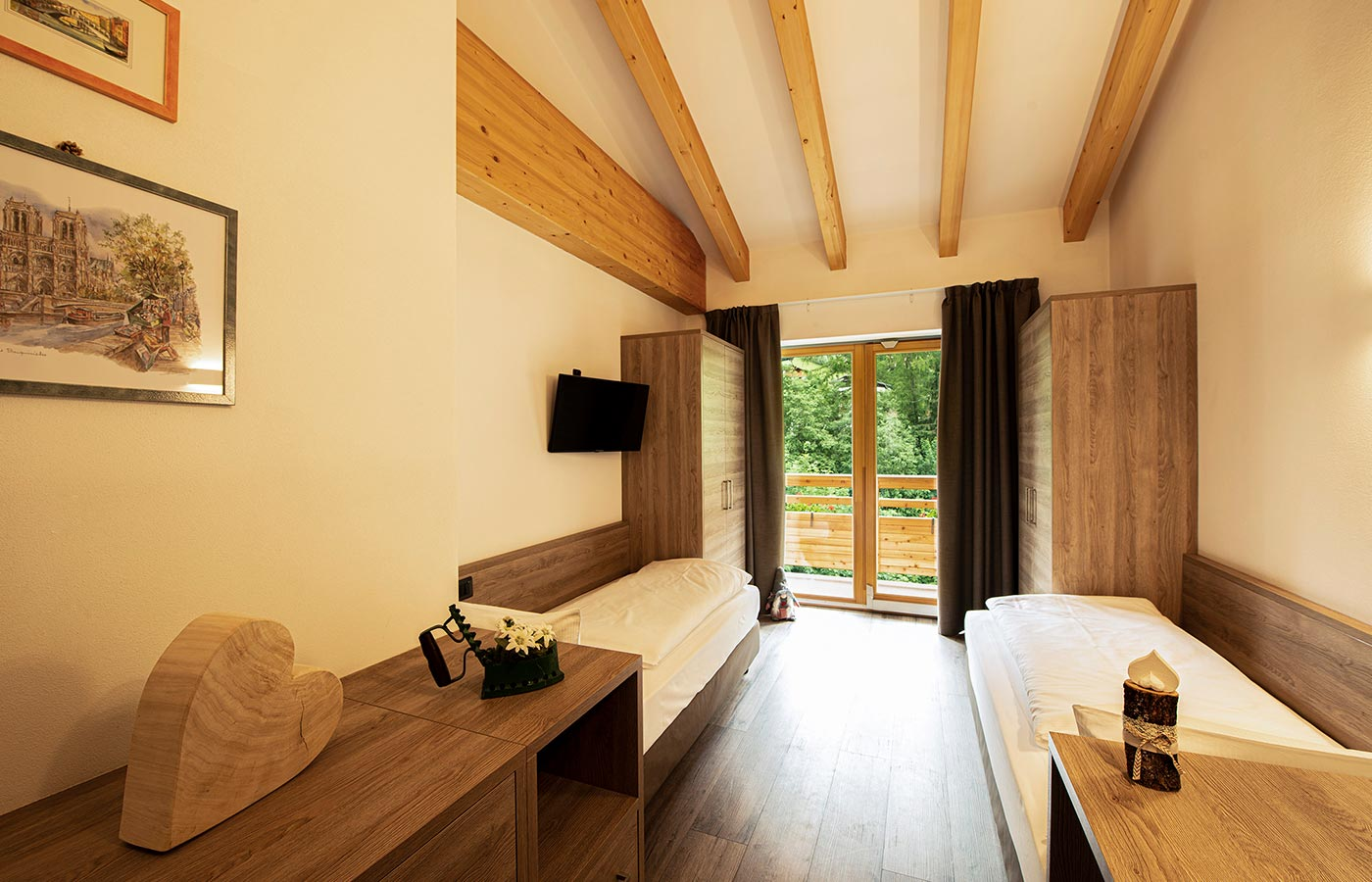 Single room at Chalet Aster